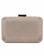 Natasha Mesh Clutch (Gold)