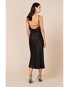 Antonelli Backless Dress - Black