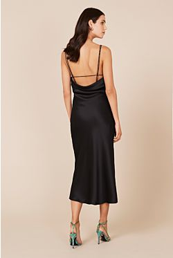 Antonelli Backless Dress - Black