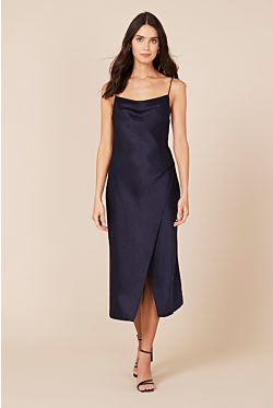 Kami Slip Dress - Navy