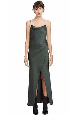 Bowery Slip Dress - Khaki