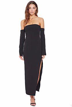 Twiggy Off Shoulder Dress
