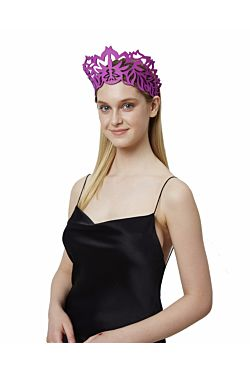 Grecian Crown - Hot Pink