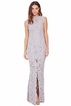 Valentine Gown – Silver