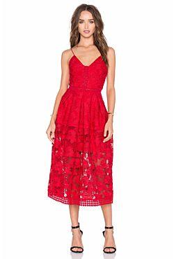 Floral Lace Rouleau Ball Dress