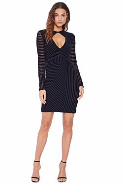 Avila Long Sleeve Mini Dress