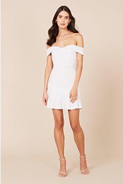 Hamptons Mini Dress - Pale Blue