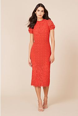 Mae Dress - Tangerine
