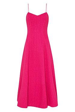 Natalia Strap Midi Dress