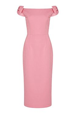 Winslow Midi Dress - Pink