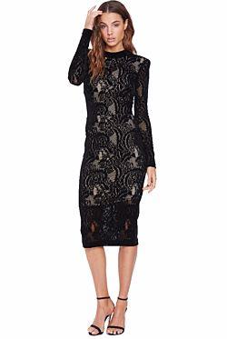 Walker Midi Dress