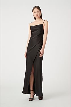 Blakely Slip Dress - Black