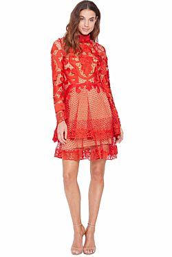 Rose Ceremony Mini Dress